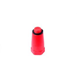 Afpropningsnippel Rød